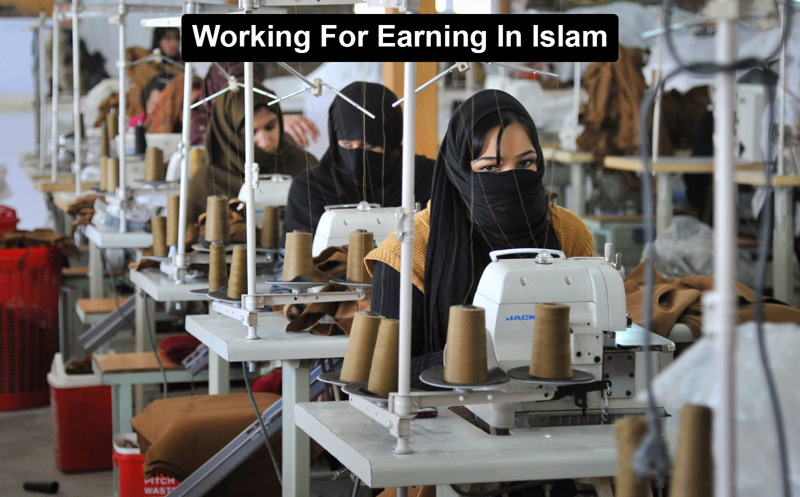 Working For Earning In Islam