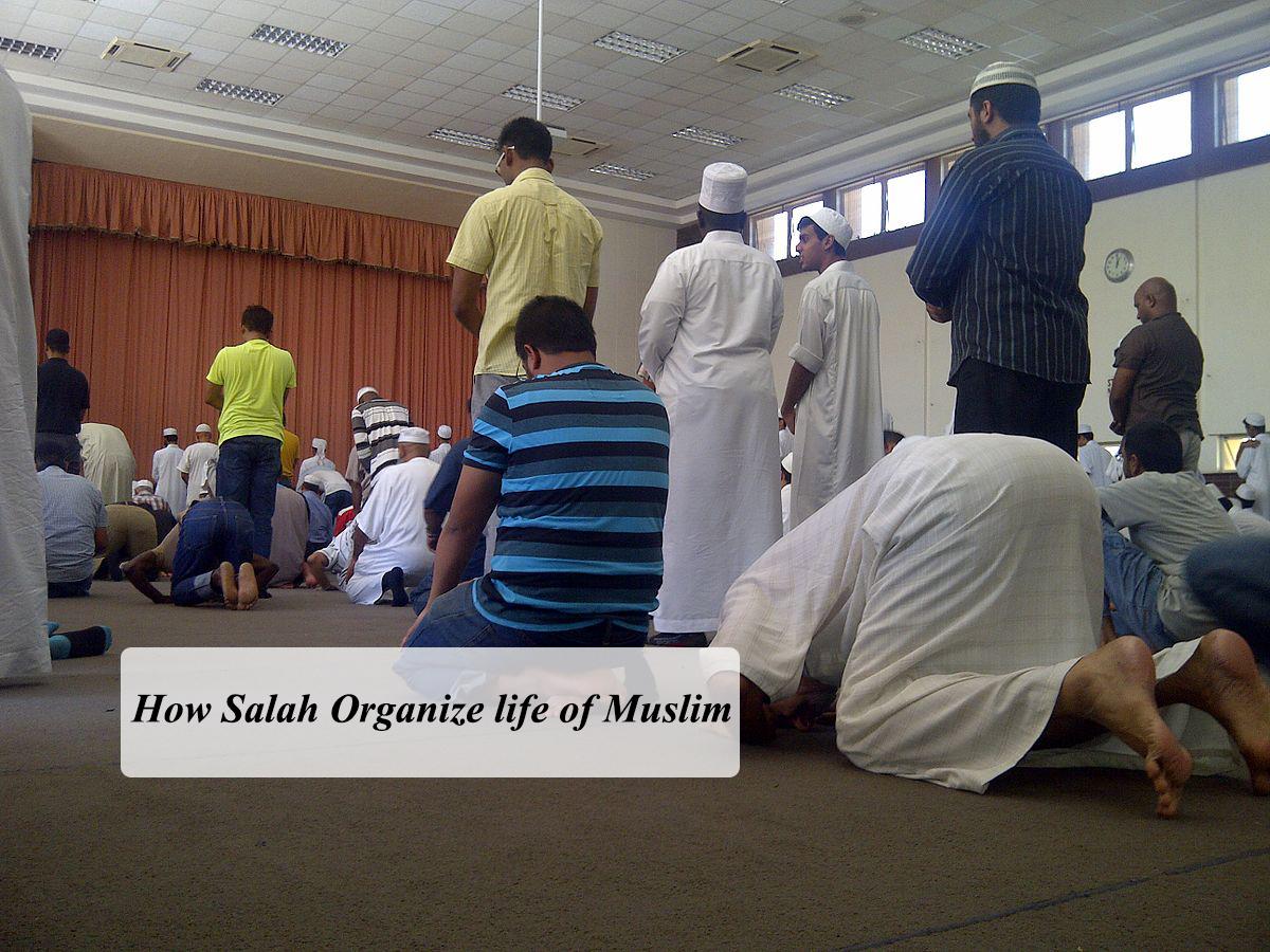 How Salah Organize life of Muslim