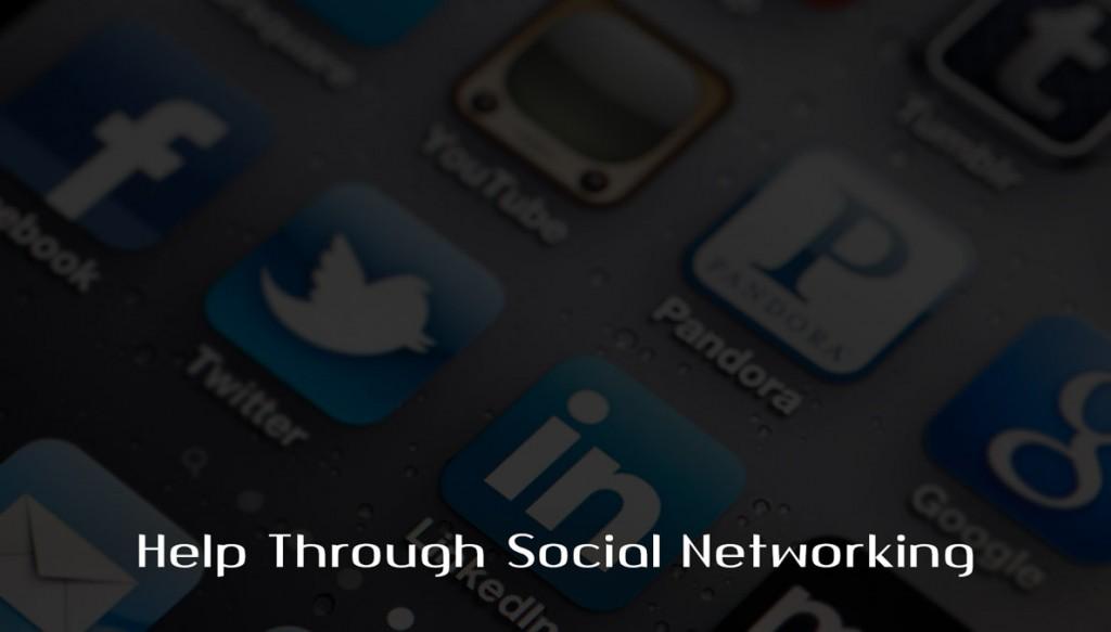 Help Through Social Networking